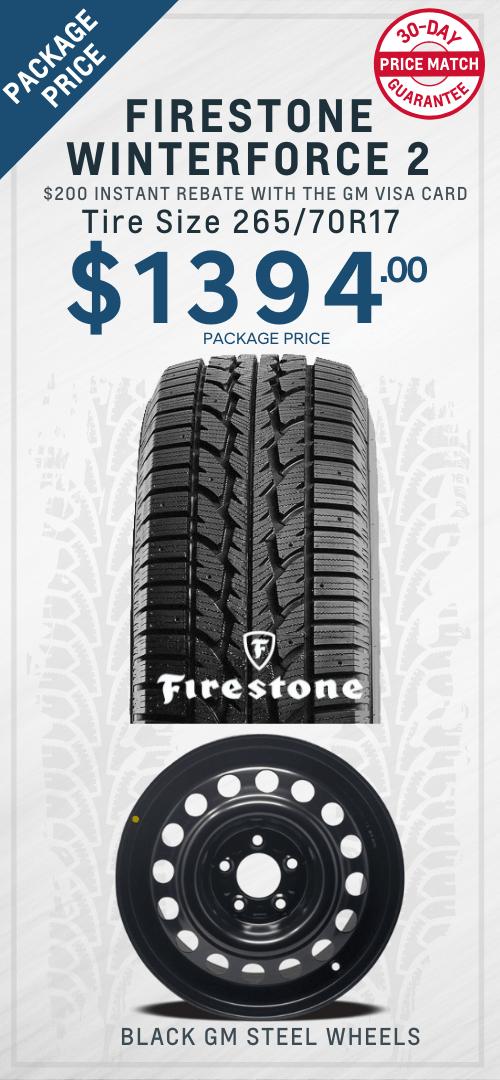 Silverado Firestone Tires Oshawa
