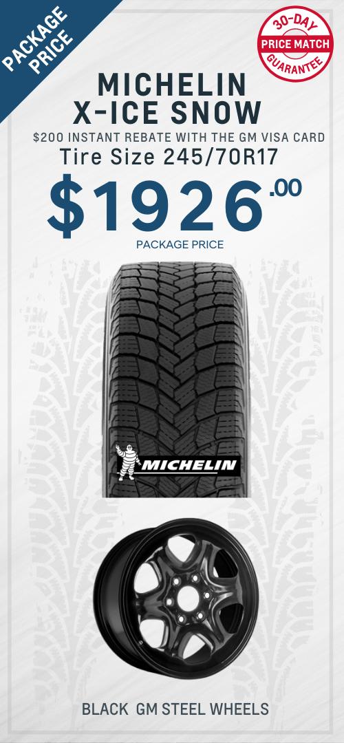Traverse Michelin Winter Tires Oshawa