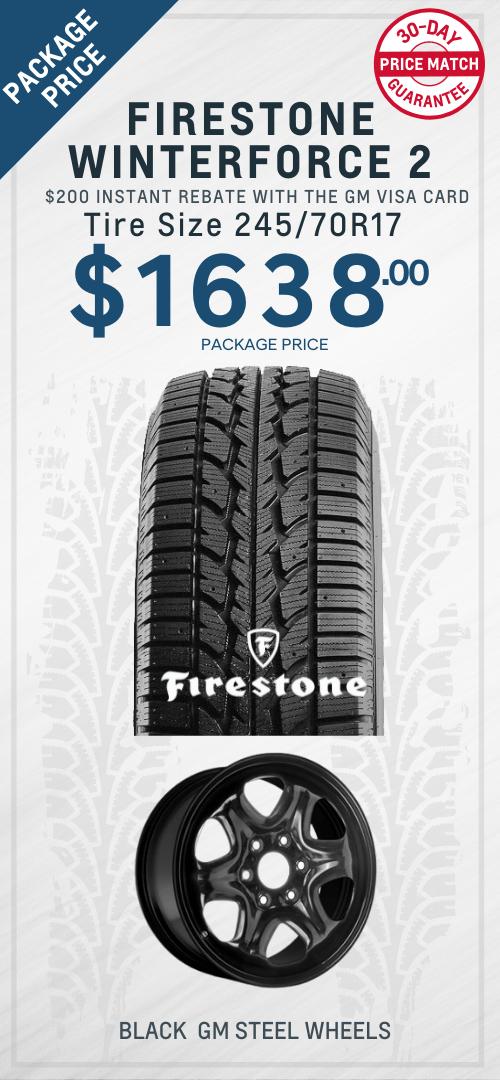 Traverse Firestone Winter Tires Oshawa