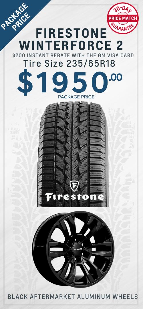 Blazer Firestone Winter Tires