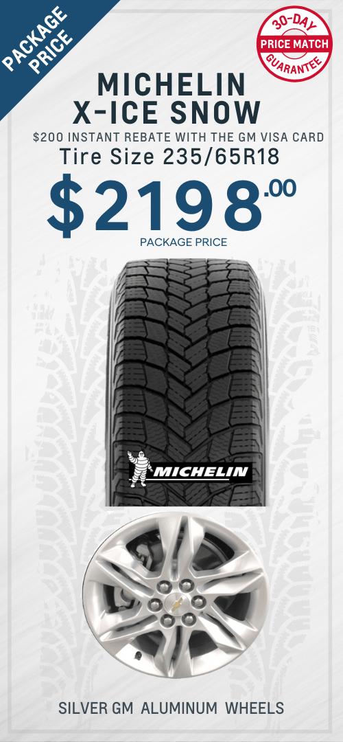 Blazer Michelin Winter Tires Oshawa