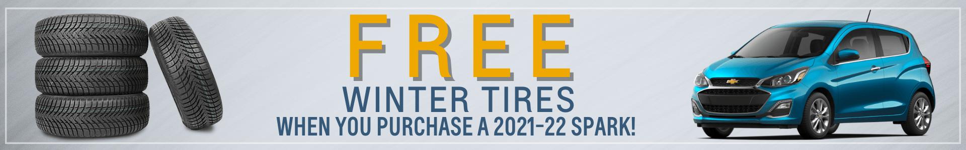 Free Spark winter tires Oshawa