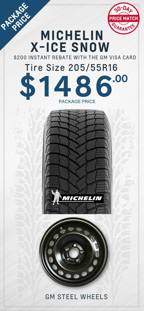 Sonic Michelin Winter Tires Oshawa