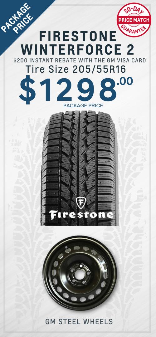 Sonic Firestone Winter Tires Oshawa