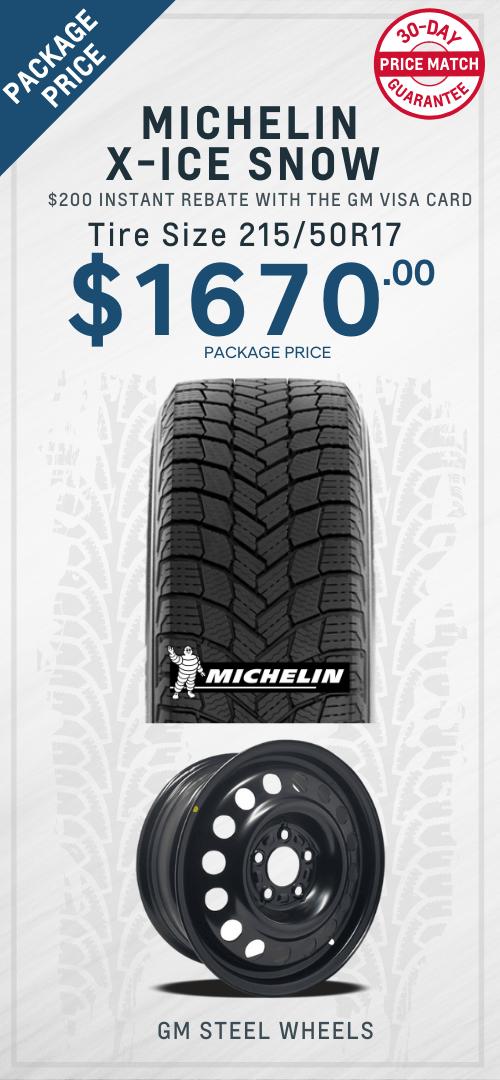 Bolt Michelin Tires Oshawa