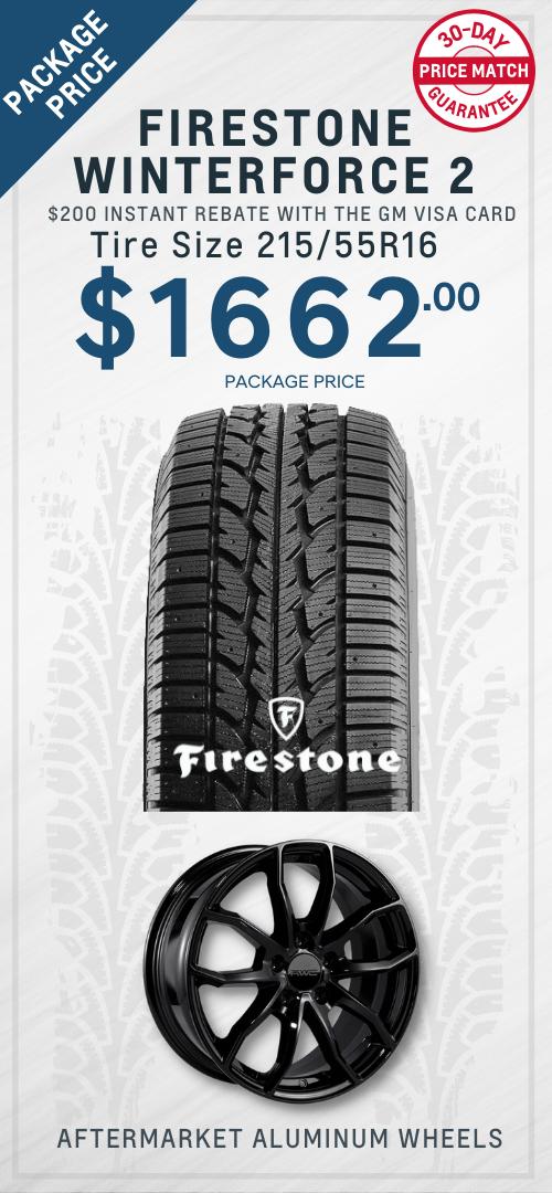 Bolt Firestone Winter tires Oshawa