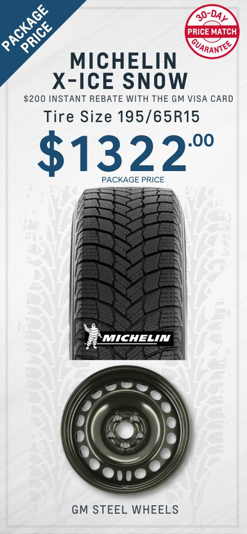Cruze Michelin Winter tires Oshawa