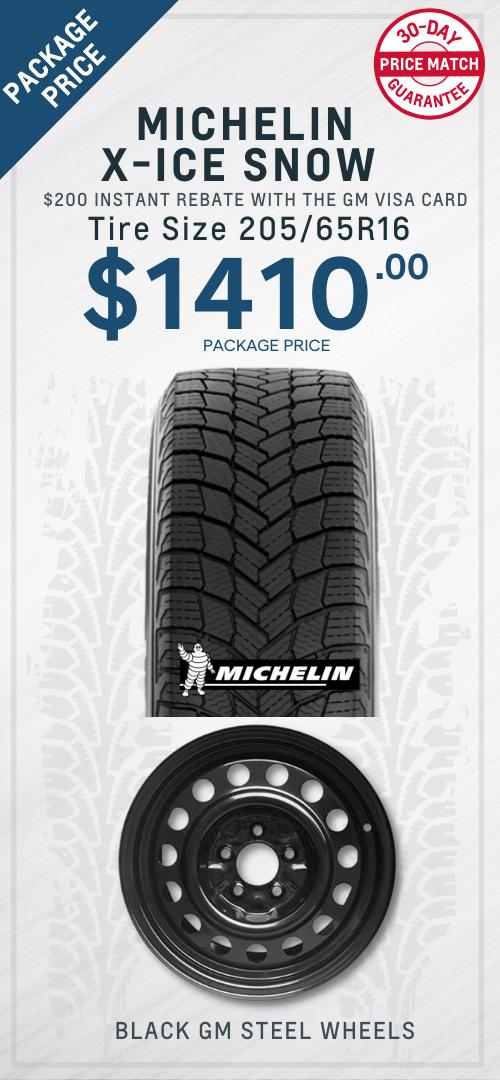 Malibu Michelin Winter Tires Oshawa