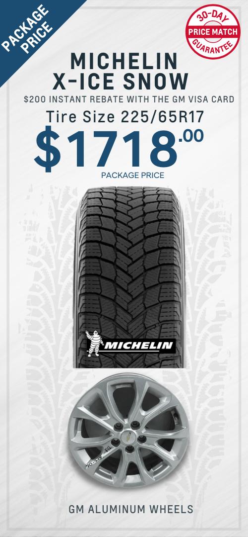 Equinox Michelin Winter Tires Oshawa
