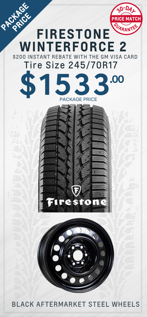 Blazer Winter Tires Packages Oshawa