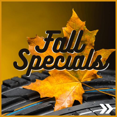 Oshawa fall Service Specials
