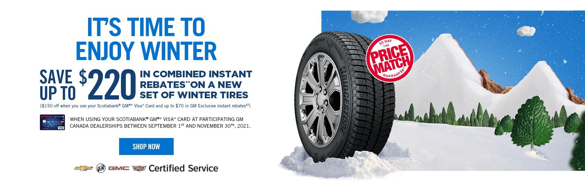 Purchase winter tires Oshawa